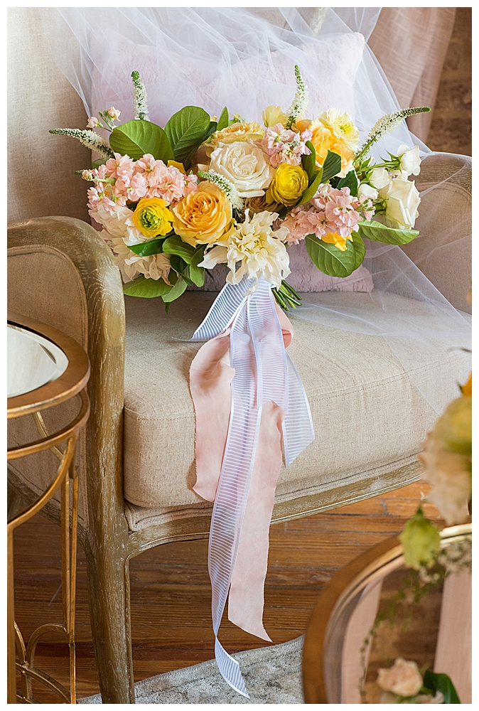 yellow-and-pink-bridal-bouquet