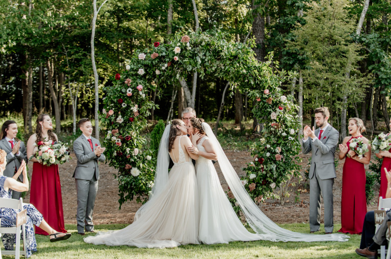 Image for North Carolina Wedding Filled with Emotional Photography and Lush Greenery