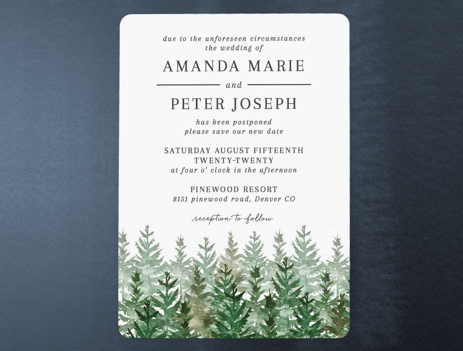 evergreen-forest-wedding-change-the-date