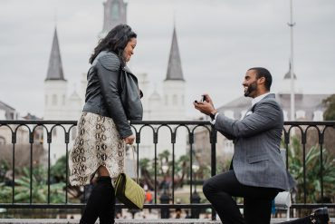 French Quarter Marriage Proposal