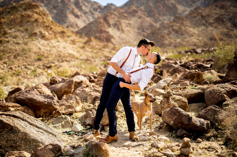 Image for Intimate California Desert Elopement