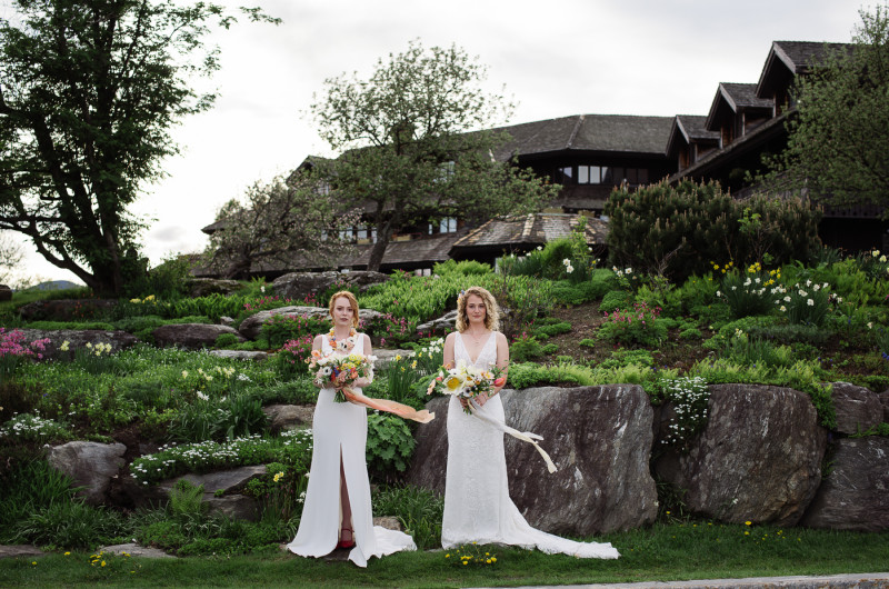 Image for Spring Wedding Inspiration at the Von Trapp Family Lodge