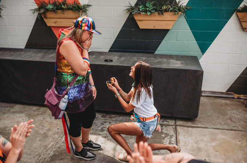 Image for A Surprise Proposal at Austin Pride