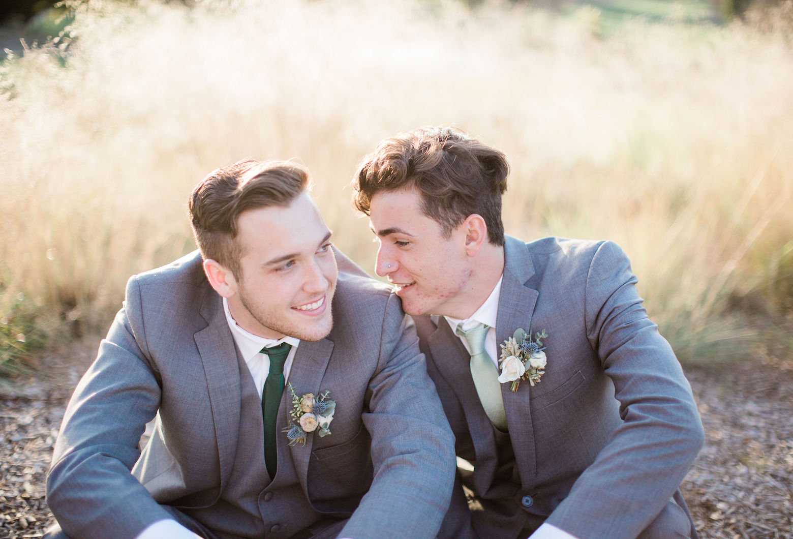 Nature Inspired Gay Wedding Styled Shoot