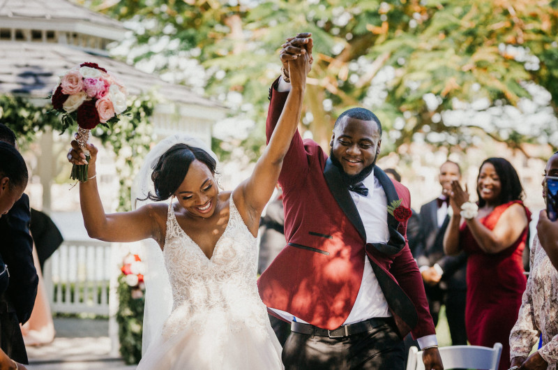 Image for Elegant Tampa Wedding With Gorgeously Glam Details