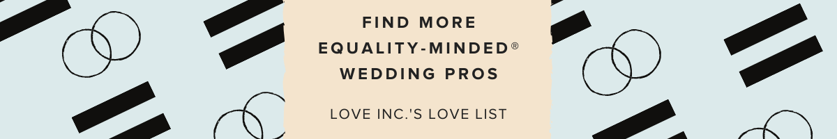 Equality Minded Wedding Pros