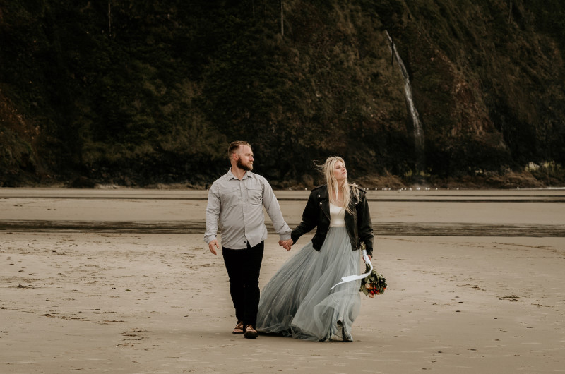 Image for A Stormy Elopement on the Oregon Coast
