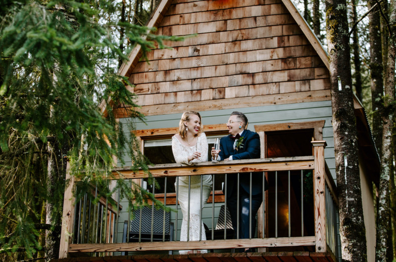 Image for This Treehouse Wedding Inspiration Is Our Childhood Dream Come True