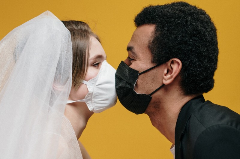 Image for 10 Wedding-Worthy Face Masks for Couples Getting Married