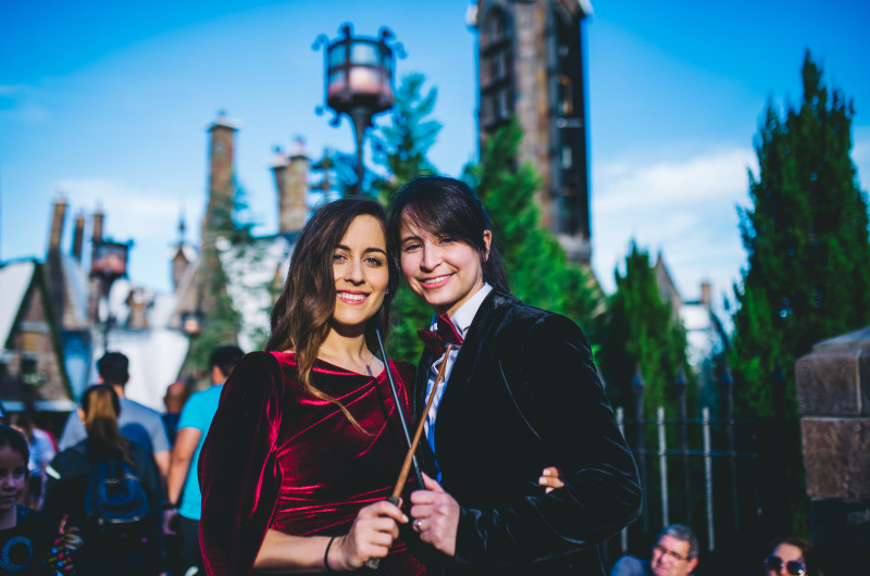 Image for A Magical Wizarding World of Harry Potter Engagement Shoot