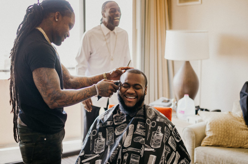 Image for Onsite Barber Services for Weddings Bring a Feeling of Luxury