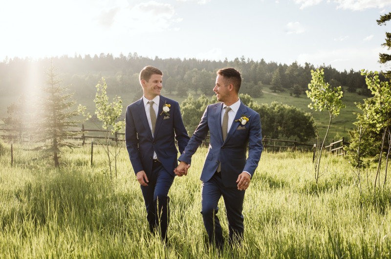 Image for Quintessential Mountain Colorado Wedding With Beer Details