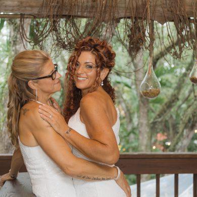 Lesbian Florida Wedding