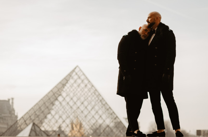Image for A Romantic Paris Elopement During the Holidays