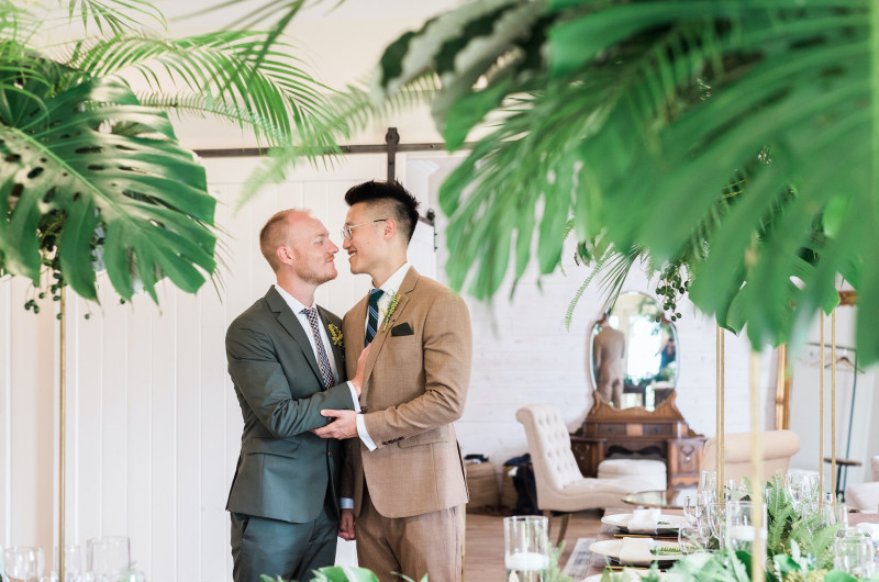 Image for This Maui Wedding Ended with a Rainbow!
