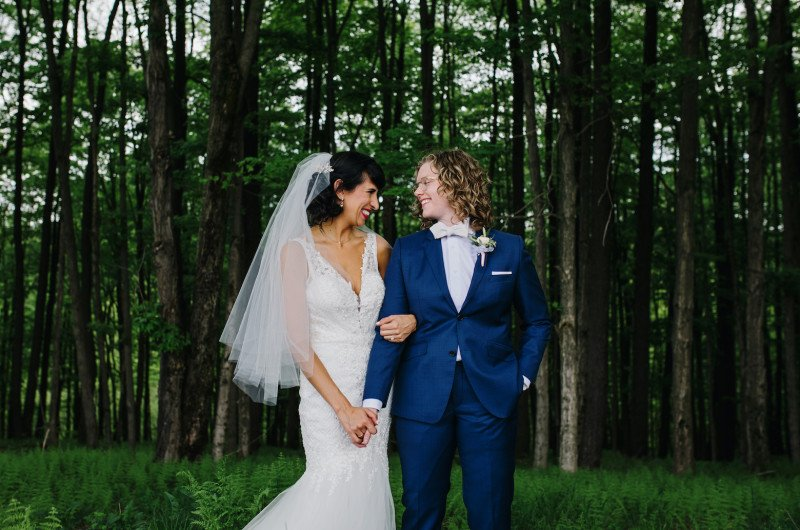 Image for Rustic Jewish Wedding with Rainbow Details