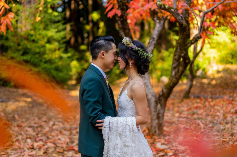 Image for Fall Fairytale Wedding in California (Plus Traditional Chinese Wedding Celebrations)