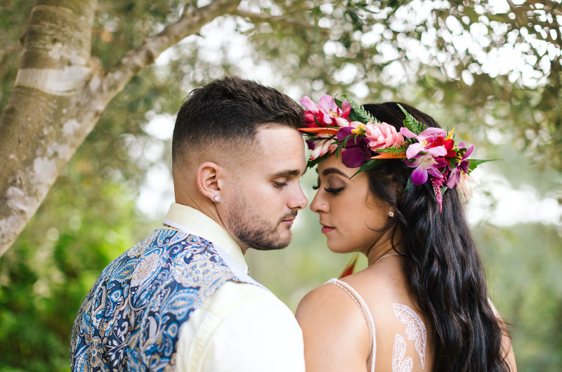 Image for Traditional Polynesian Wedding Styled Shoot with a Modern Twist
