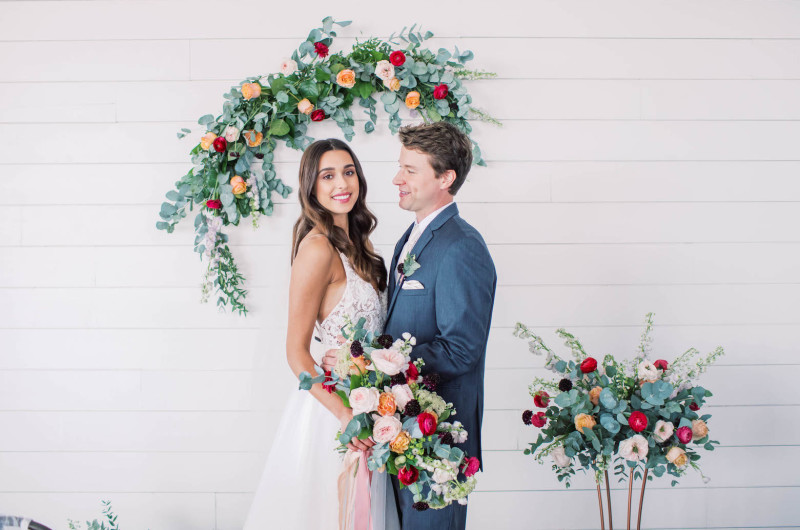 Image for Minimalist Wedding Inspo With a Touch of Whimsy