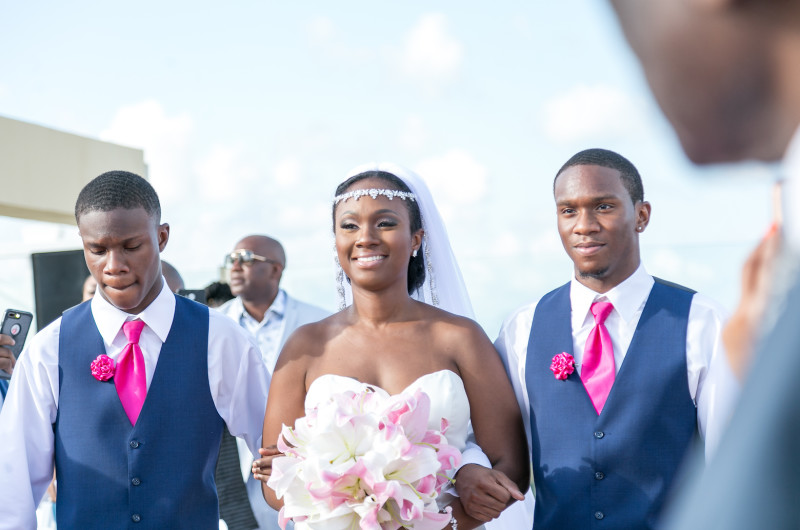 Image for Tips for Finding the Right Wedding Photographer for Couples With Dark Skin