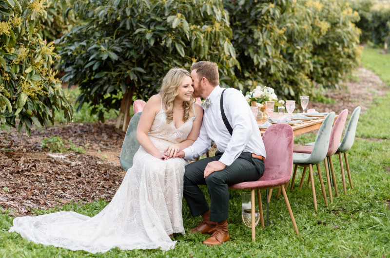 Image for Dreamy Microwedding Inspiration in an Avocado Grove