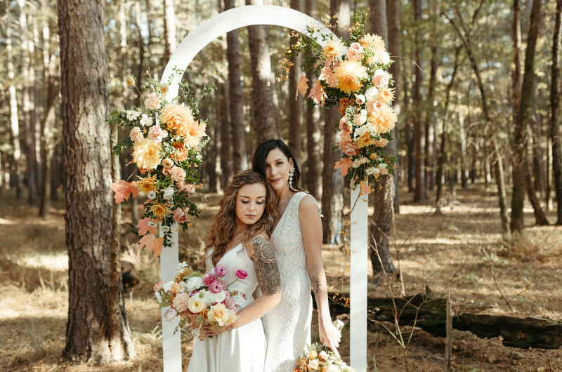 Image for Earthy Fall Wedding Inspiration with Organic Details