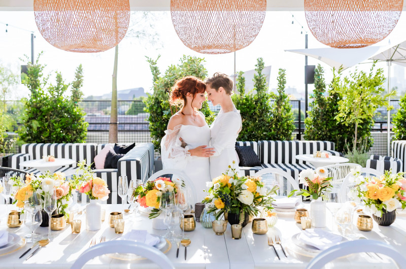 Image for Modern Wedding Inspiration with French Vibes in Hollywood