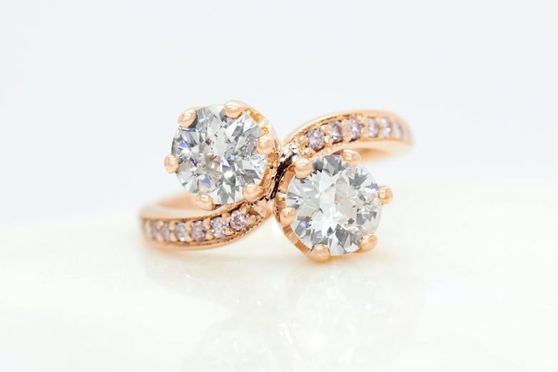 Taylor and Hart Engagement Ring