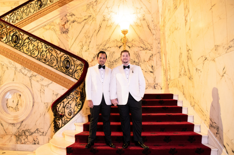 Image for New York City Ballroom Wedding With Old-World Opulence