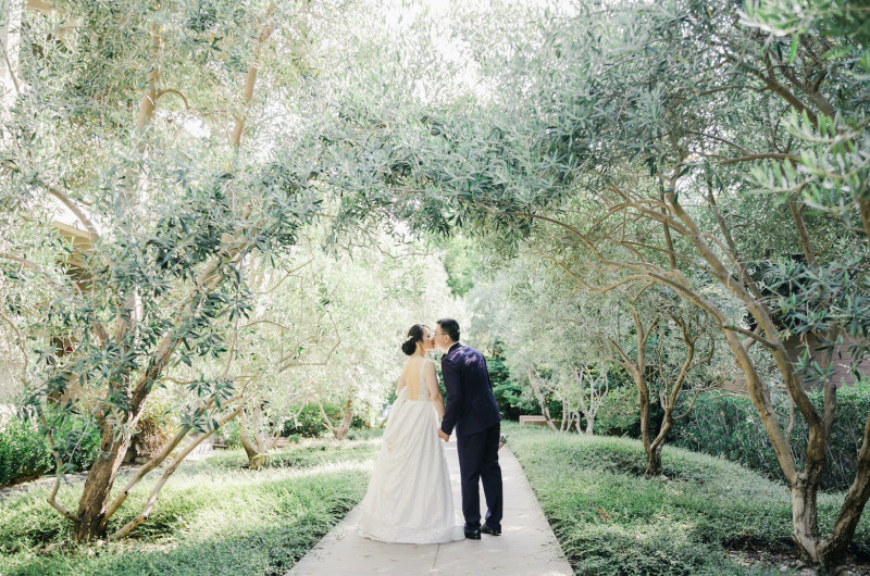 Image for Floral-Filled Ballroom Wedding in California with Nods to Badminton