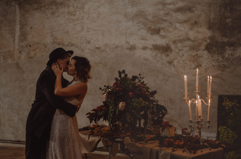 Image for Sexy and Steamy Baroque-Inspired Styled Shoot in Italy