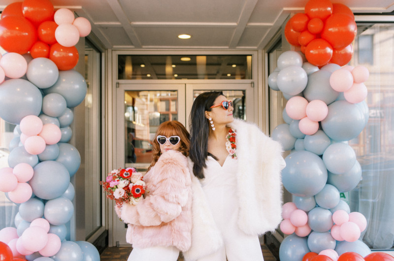 Image for Retro and Whimsical Valentine's Day Wedding Inspiration