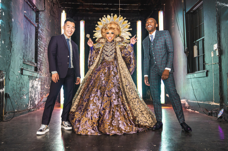 Image for This COVID Wedding Had a Drag Queen, Zoom Dance Party and Nods to Black Lives Matter