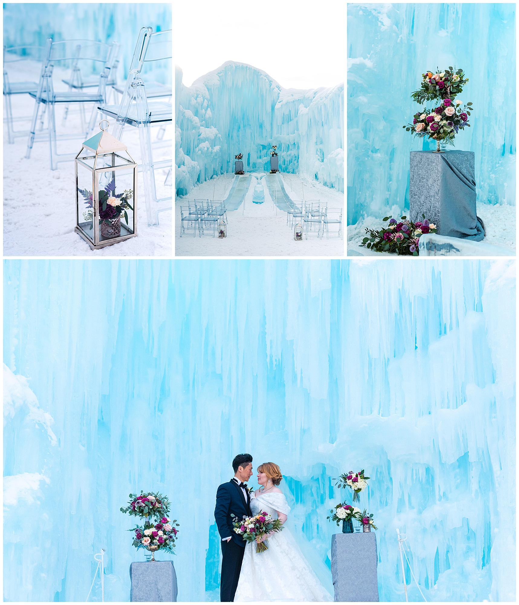 Edmonton Wedding Ice Castle Rhiannon Sarah Photography