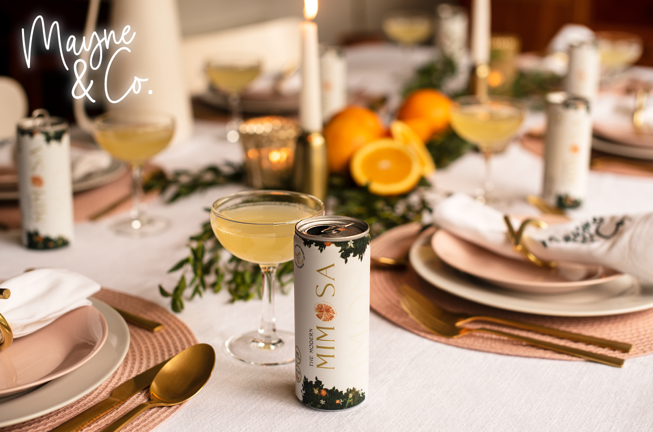 canned-cocktails-for-weddings-modern-mimosa