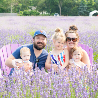 Lavender by the Bay Family Photos