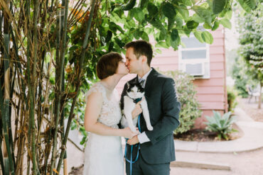 Covid Wedding Elopement with a Cat